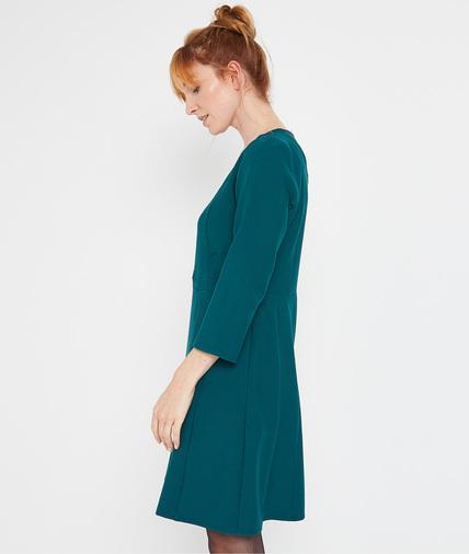 Robe verte dentelle femme VERT