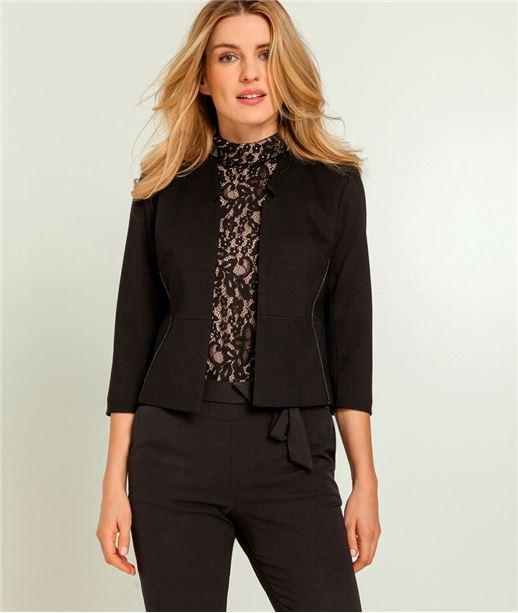 veste femme blazer bombers blouson veste en jean grain de malice. Black Bedroom Furniture Sets. Home Design Ideas
