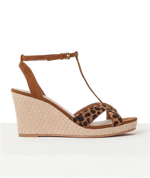Chaussures femme compensées CAMEL