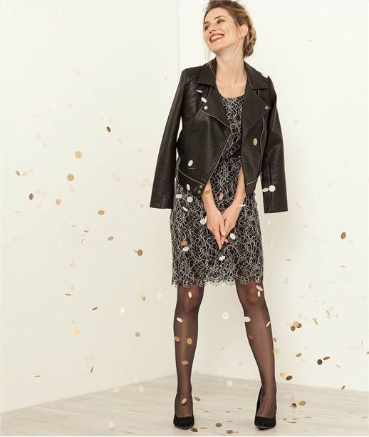 robes robe dentelle robe longue robe femme grain de. Black Bedroom Furniture Sets. Home Design Ideas