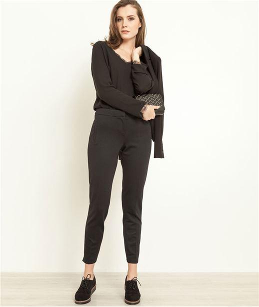 pantalon femme chino femme 7 8 me femme grain de malice. Black Bedroom Furniture Sets. Home Design Ideas