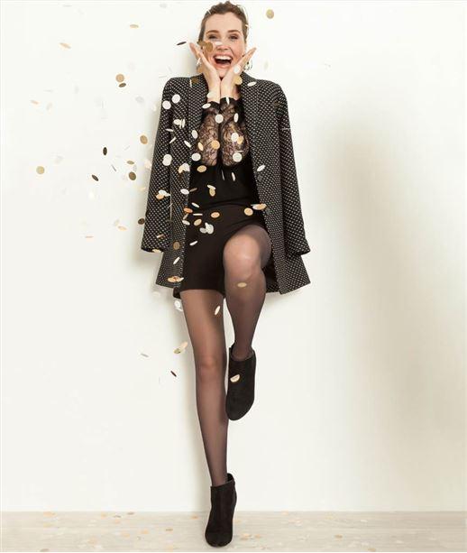 Manteau femme lainage fantaisie MARINE