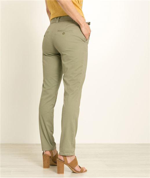 pantalon droit femme pantalon couleur grain de malice. Black Bedroom Furniture Sets. Home Design Ideas