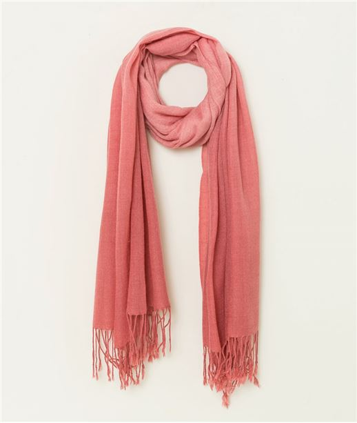 Echarpe femme tie and dye ROSE FANE
