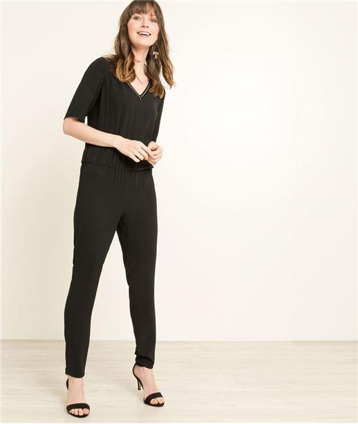 Combinaison pantalon femme NOIR