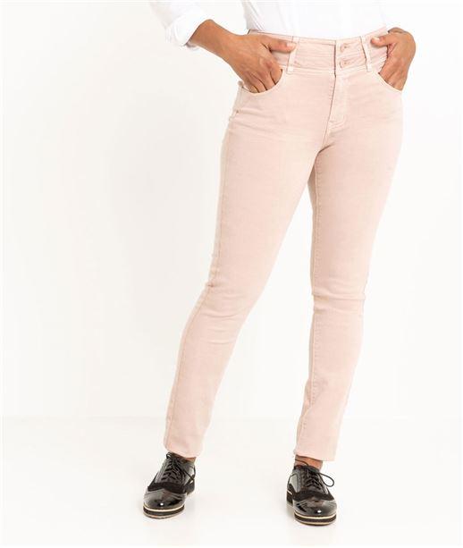 Pantalon femme slim taille haute PETALE