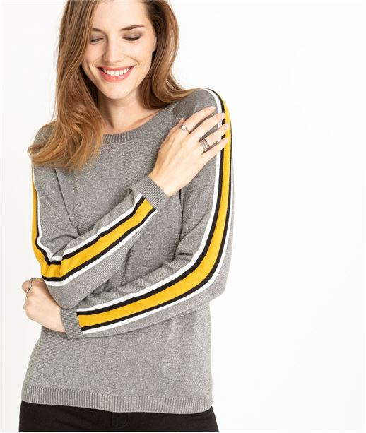 Pull femme athlesure GRIS