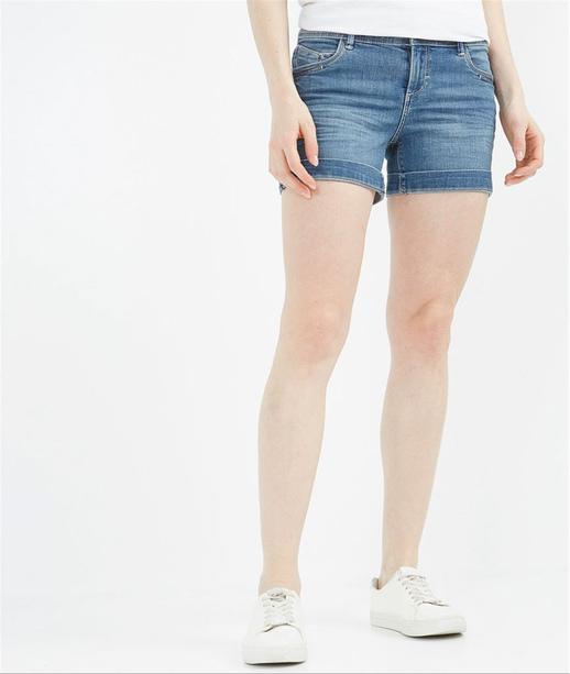 Short femme en jean STONE