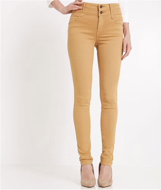 Pantalon femme slim taille haute MIEL