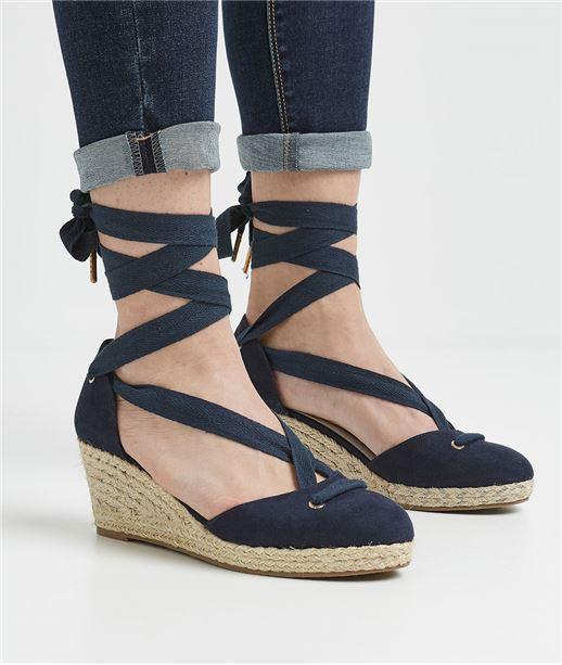 Chaussures femme compensées MARINE