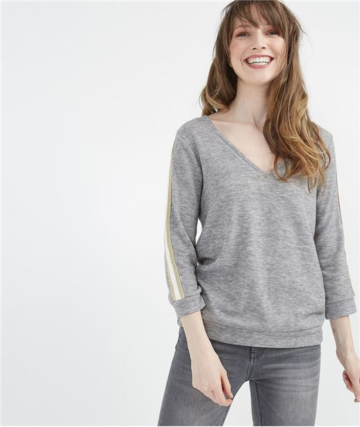 Pull athlesure gris GRIS