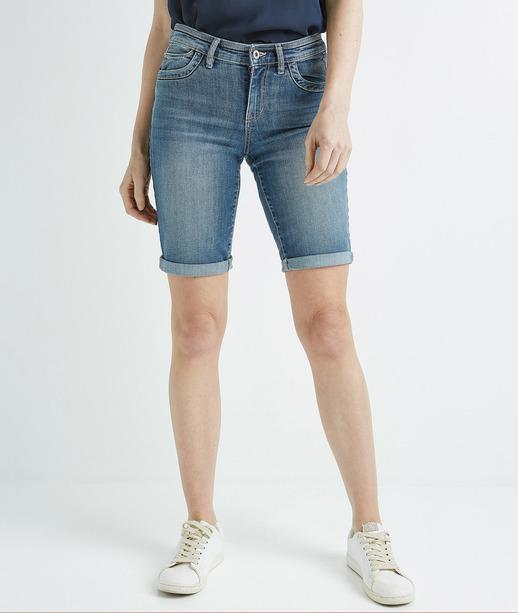 Bermuda femme en jean STONE