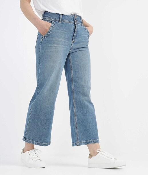 Jean large raccourci STONE