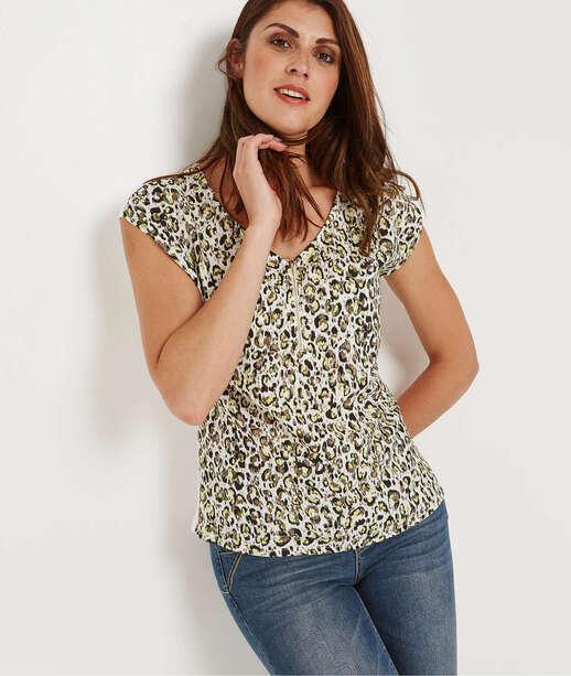 63a6b2850b0fd T-shirt Femme, Top et Débardeur - Grain de Malice