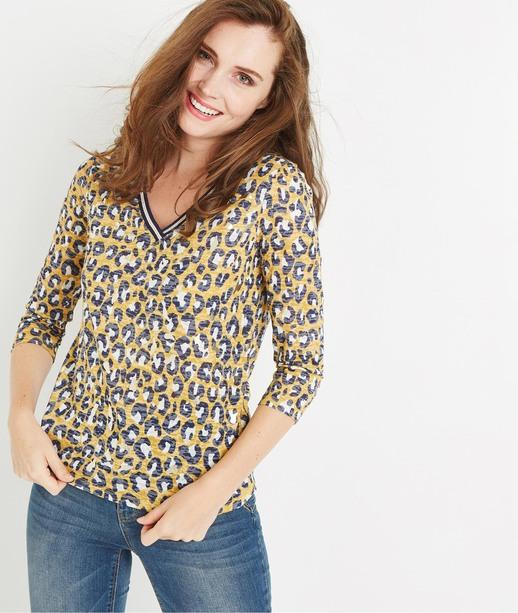 T-shirt léopard SAFRAN