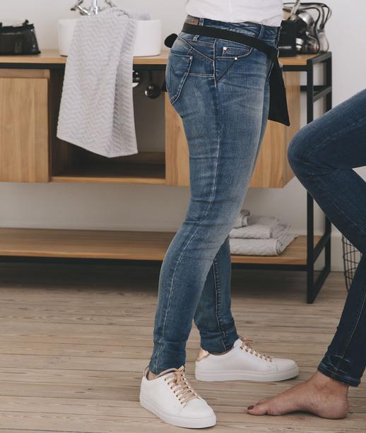 Jean slim push-up femme STONE