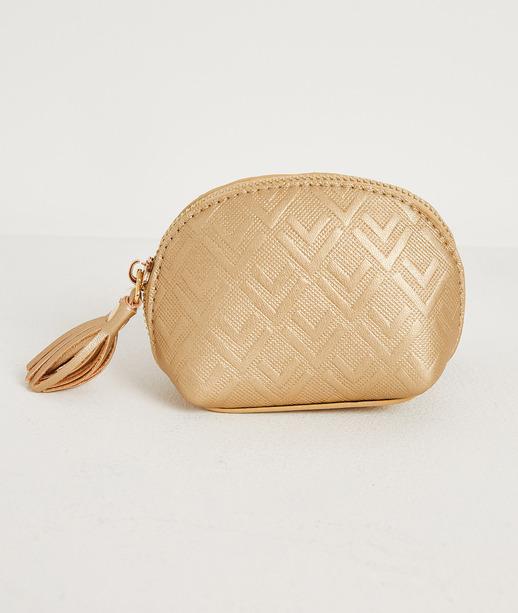 Porte monnaie doré femme OR