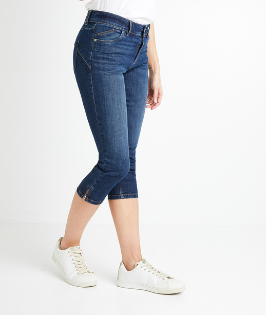 Corsaire en jean femme RINSE