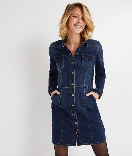 Robe en jean bleue femme BRUT
