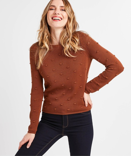Pull camel fantaisie femme CAMEL