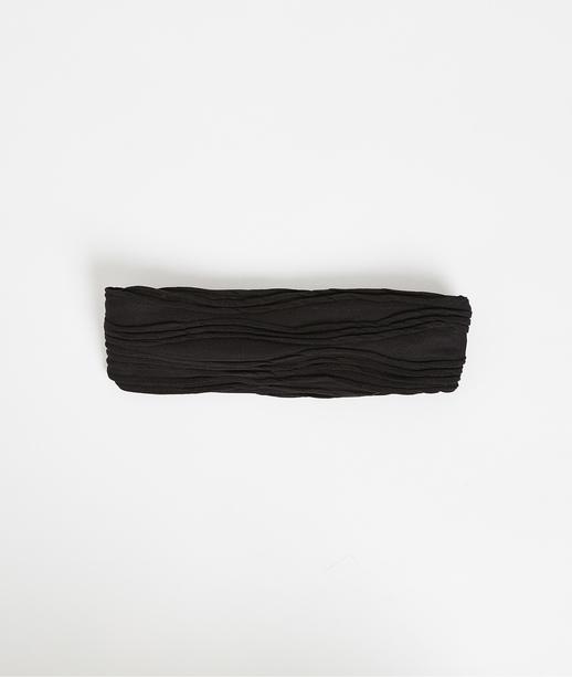 Bandeau pour cheveux noir femme NOIR