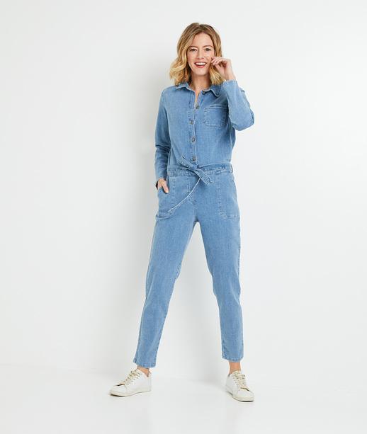 Combinaison en jean femme STONE