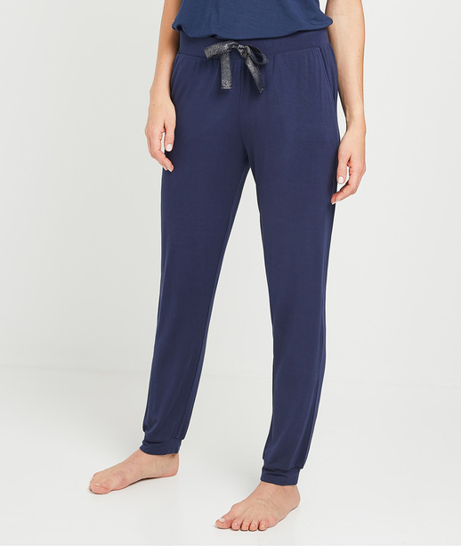 Pantalon pyjama marine femme MARINE