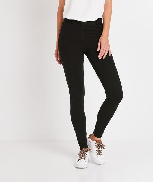 Pantalon legging noir femme NOIR