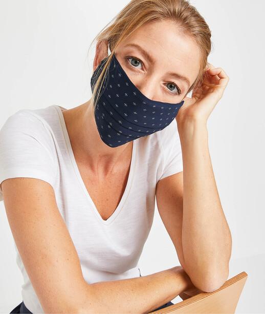 Masque en tissu fantaisie femme IMPRIME