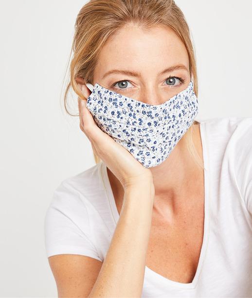 Masque en tissu fantaisie femme MULTICOLORE