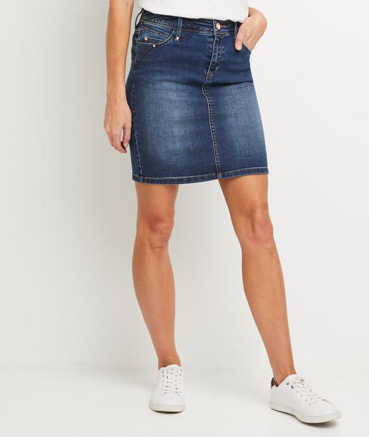 Jupe en jean droite femme RINSE