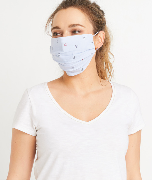 Masque en tissu fantaisie femme CIEL